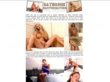 Bathroom Masturbation