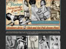 Vintage Stockings Parade