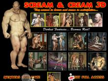 Scream and Cream 3D