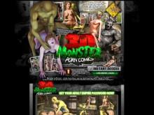 3D Monster Porn Comics