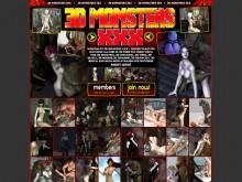 3D Monsters XXX