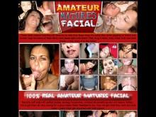 Amateur Matures Facial