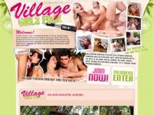 Village Girls Fuck