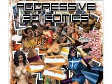 Aggressive 3D Comics